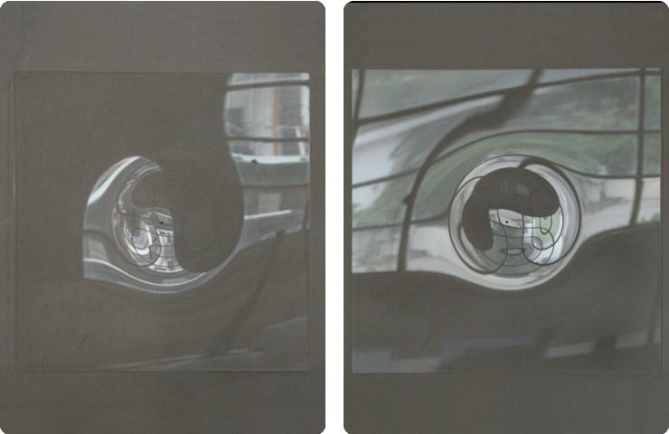 série réflexions - 2005 courtesy the artist