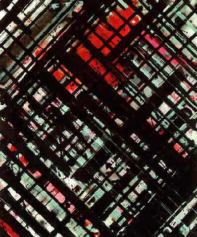 ed moses_untitled 83 1976-1983 acrylic on canvas