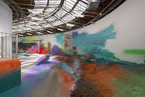 installation at Palais de Tokyo 2005