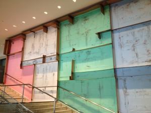 Carlos Bunga at Hammer museum