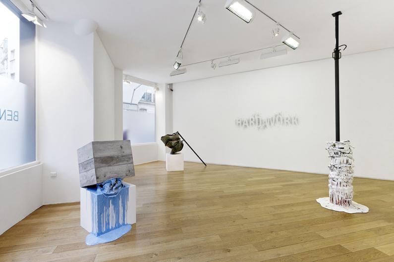 vue expo 1 Galerie Jerome de Noirmont juillet 2012