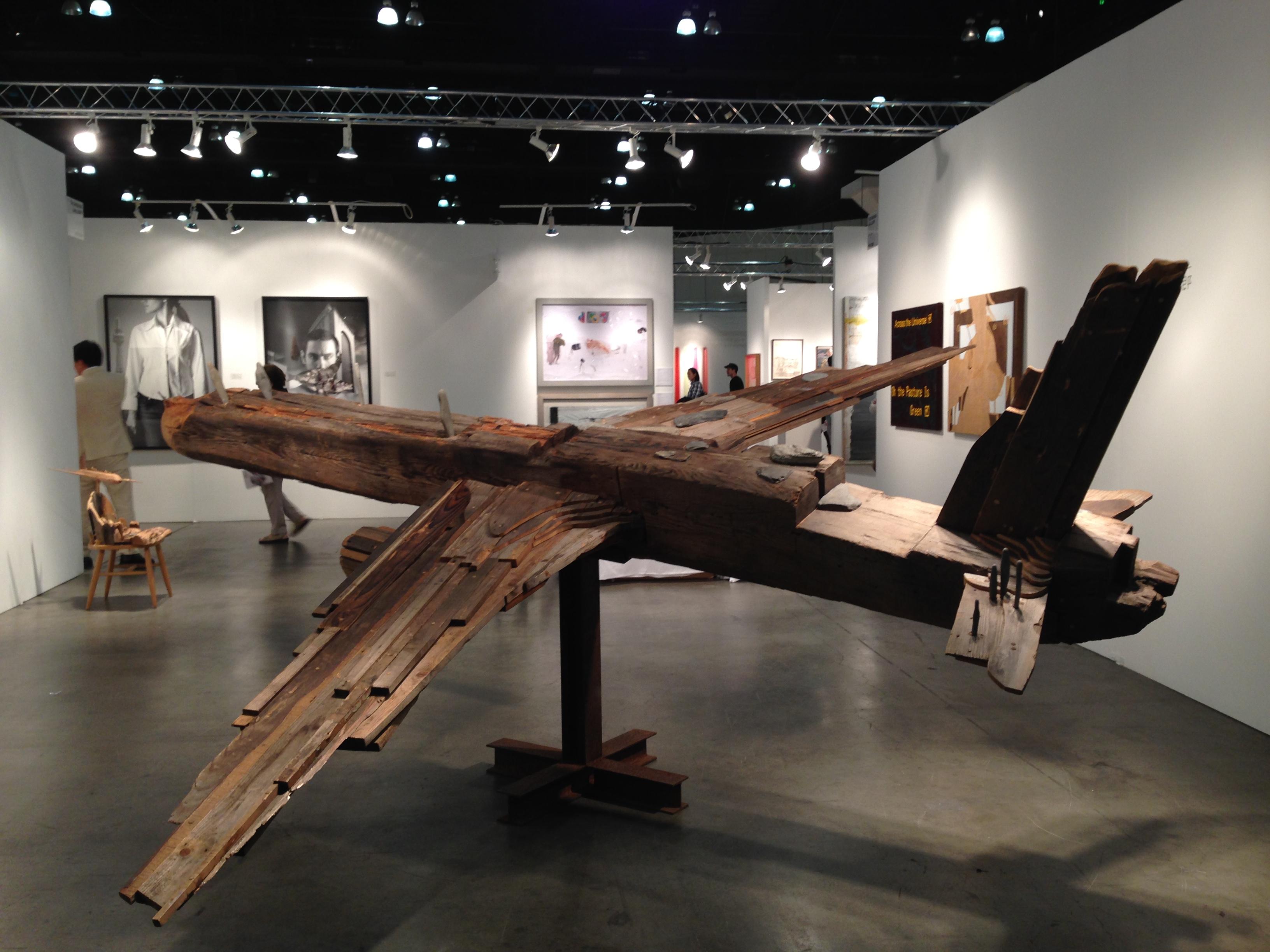 Toshimitsu ito at Tachibana gallery booth2