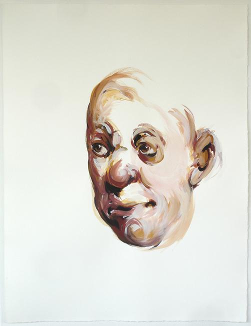 Bénédicte Peyrat ohne Titel / Untitled (G12), 2006 Gouache auf Papier / Gouache on paper 65 x 50 cm Courtesy Thomas Rehbein Gallery