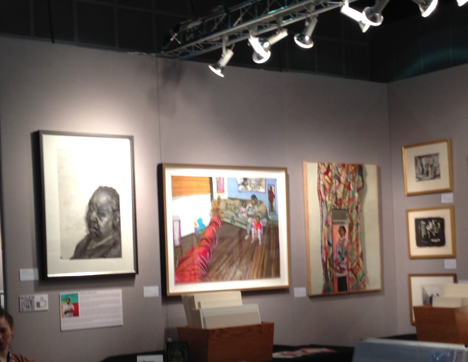 Sedrick Huckaby at Thomas French fine art1
