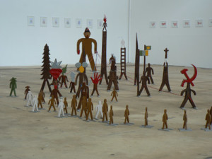 Installation at Fabrik culture by Philippe Jacq, selected in 2007