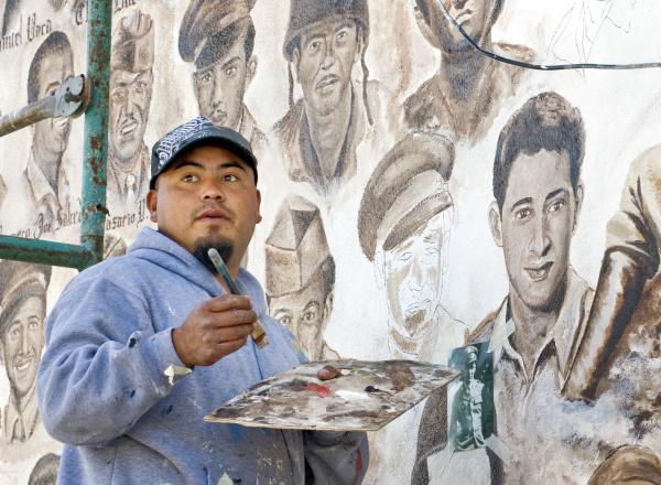 Latino American Painter, Carlos Aguilar