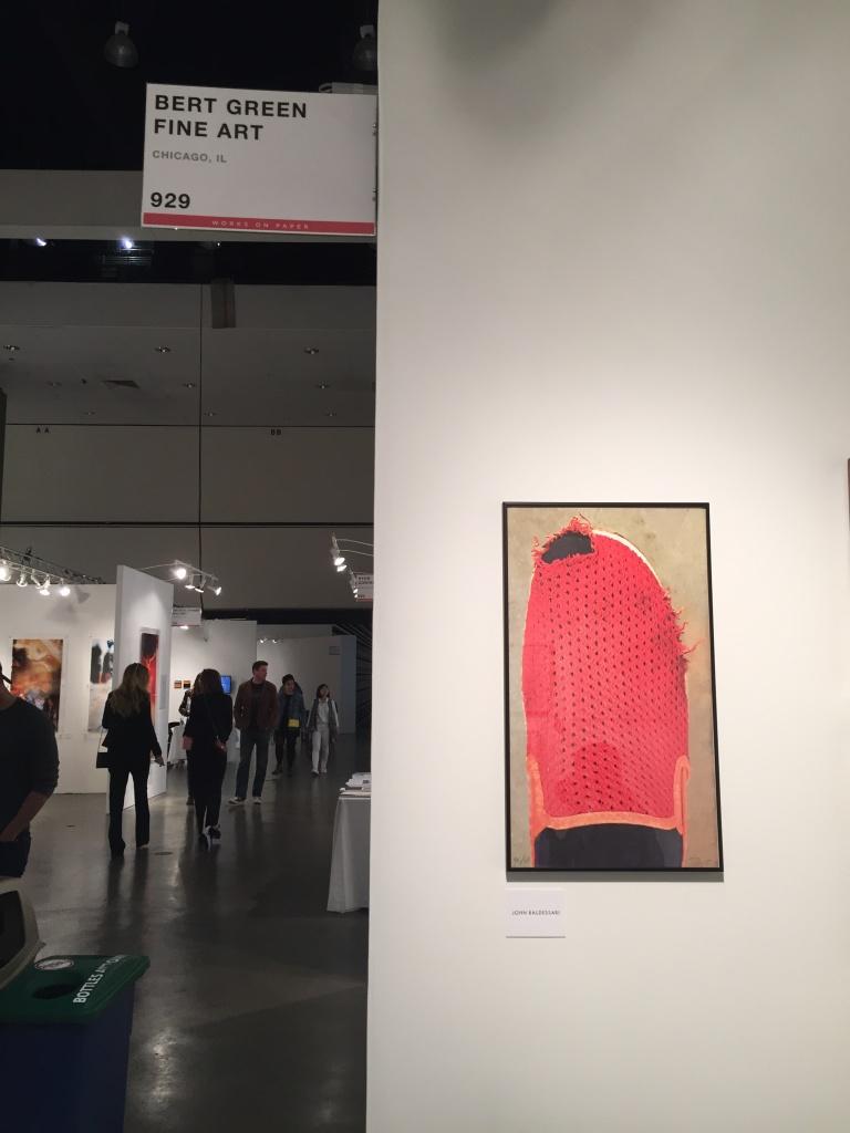 Baldessari - Print 2015 - at Bert Green fine art, Chicago