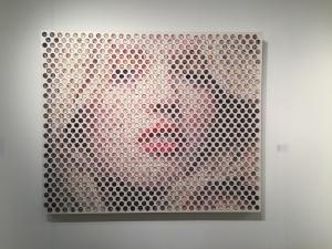 A portrait by Dutch artist, Nemo Jantzen at K+Y, Paris