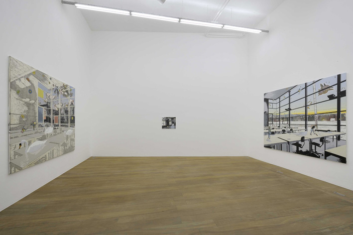 A Summer of Sorts for Broken Painters - Galerie Laurent Godin, Paris, 2008