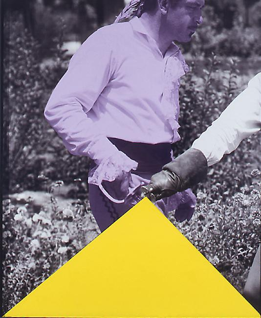 Blockage (Yellow) And Person with Sword (Violet) 2004