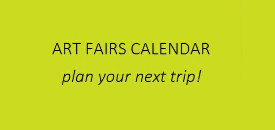 Calendar Of Art Fairs : Art fairs calendar be magazine