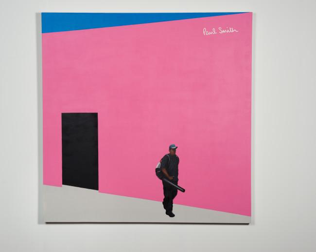 """Paul Smith"" by Ramiro Gomez courtesy Charlie James Gallery"