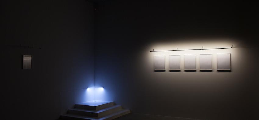 """2016 Exhibition view: Claude Closky """"Vampires et fantômes"""" - courtesy Galerie Laurent Godin, Paris - photo courtesy Yann BohacJuin 2016"""