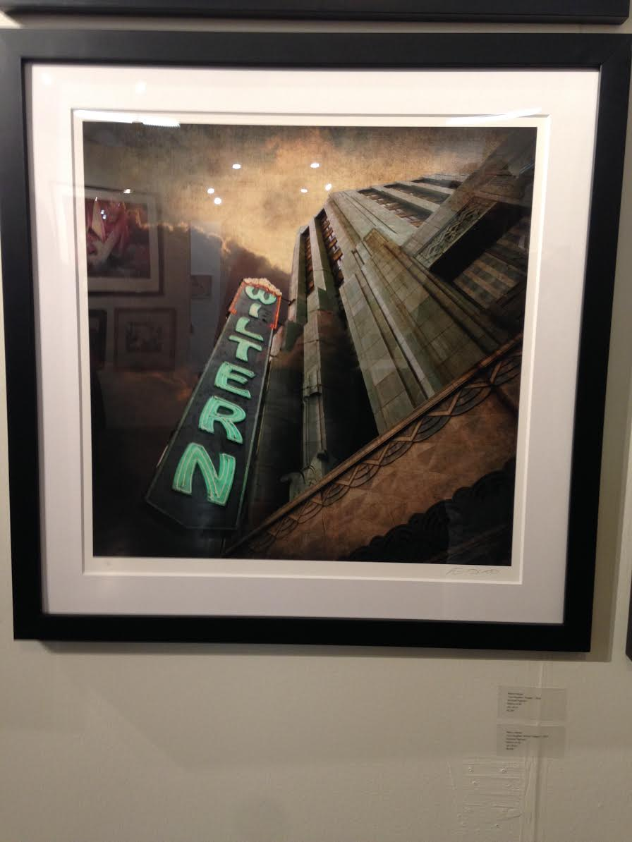 Nancy Harasz , Wiltern Theater - courtesy G Ray Hawkins gallery