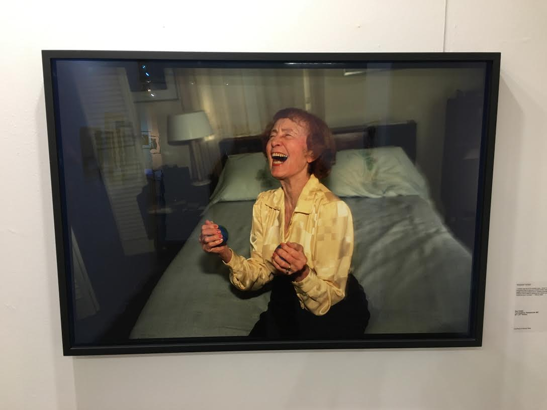 "In Point Of View Gallery: Nan Goldin, ""Lil laughing"" Courtesy Wendy West"