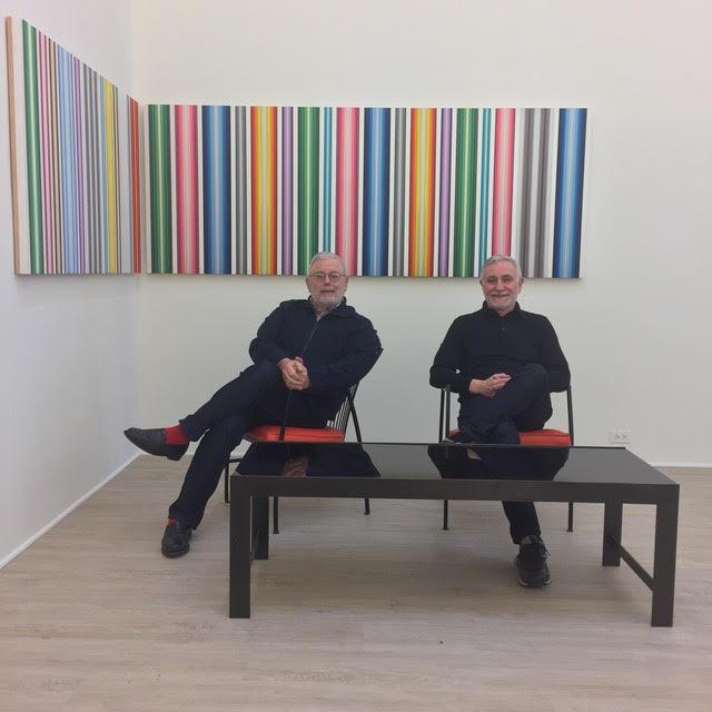 René-Julien Praz (left) Bernad Delavallade (right)